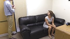 Young College Girl Haley Gets A Hot Anal Porn Audition!