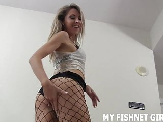 How to look at porn safely - I want you to look at my 18yo ass in fishnets joi