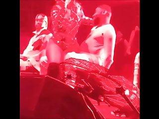 Ashanti boobs Ashanti sexy on stage 2 shebad