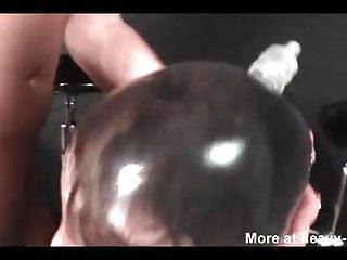 Bondage dog Condom encasement