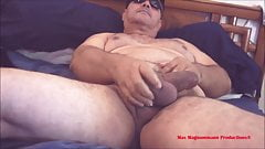 The Hung Master with BullBalls Shoot in Bed