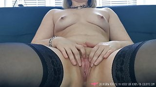 Vends-ta-culotte - French Babe Pussy Masturbation Close Up