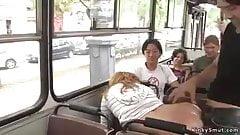 bus blowjob