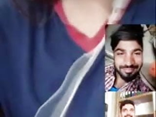 Dirty asian ass Pakistani on a video call talking dirty with boys about sex