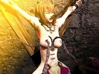 Hentai princess monster cock Robi princess prison 3d