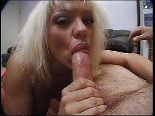 Free man man oral sex video - Blonde slut orally pleasures her man