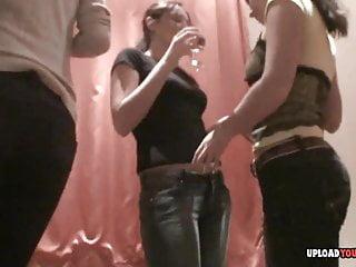 Beautiful naked horny women Horny lesbian beauties get naked on camera