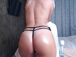 Shy nude girl video - Sexy nude girl on cam oily nude body