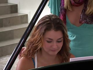 Adult piano penis video Samantha ryan and allie haze at the piano