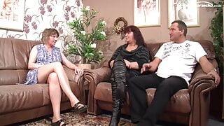 Helga, Sabrina 56 und Ihr notgeiler Ehemann das erste mal