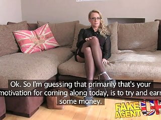 Video adult chat - Fakeagentuk creampie for sexy blonde milf in adult casting