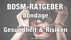 BDSM-Adviser: Healthy tips for your bondage session