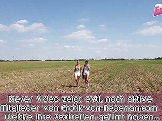 Anal ffm free vid German amateur milf at outdoor threesome with anal ffm