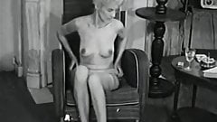 Delightful Woman Poses and Masturbates (1950s Vintage)