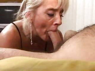 Mature amateur blow Mature blonde blow job