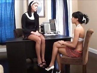 Lesbian smell fetish - Nuns feet smell good