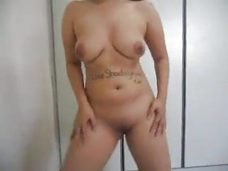 Teen nude selfshots Big tits tatoed dancing nude selfshot