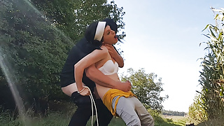 Tranny at the sport workout raided, used and fucked