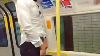 Dare to piss in the train