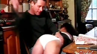 Stef Loves That Spanking Paddle