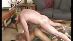 Hot twink barebacked by dude.
