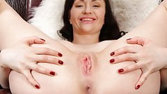 Horny mommy masturbating