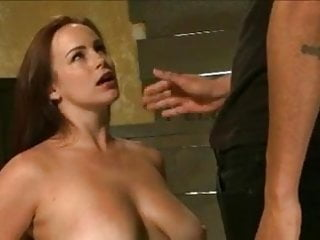 Bdsm rolepay Young redhead with big tits gets hogtied and fucked by bbc