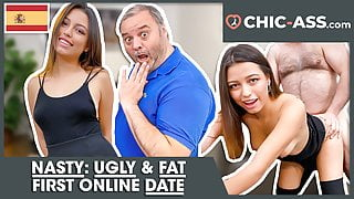REAL ONLINE DATE: Spanish BEAUTY Camila Palmer! CHIC-ASS.com