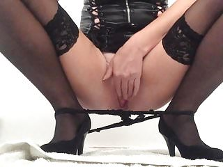 Panties soaked with cum - My squirting pussy soaking my panties as my juices flow