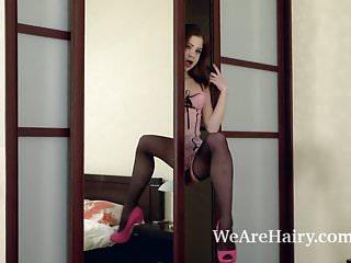 Erotica emanuele arden Emanuelle strips and masturbates on her bed