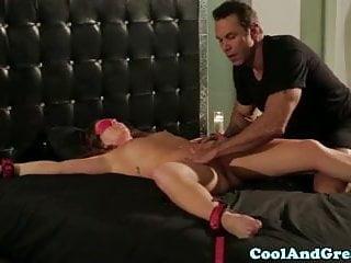 Sexual bondage play - Restrained maddy oreilly loving bondage play
