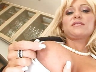 Pussies hole - Big blond milf gets her holes filled