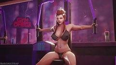 Overwatch Brigitte Workout at the Gym