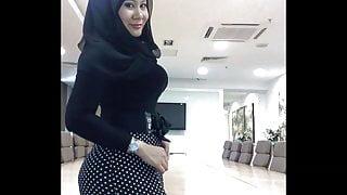 Turkish arabic-asian hijapp mix photo 11
