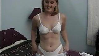 EDPOWERS - Debutante Mackenzie eating cum and blowjob 3way