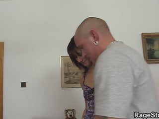Pussy punishment xxx She takes blowjob and rough pussy punishment