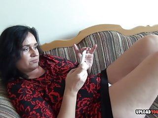 Contorsionist girl licked herself - Mature licks a condom and fingers herself