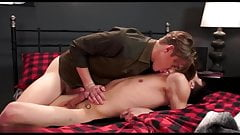 Hot young twink get pounded bareback