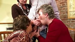 Mature moms humiliated and fucked by young boy