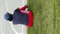 chibola rica con leggins rosado
