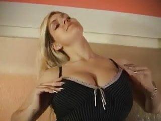 Big tits softcore - Blond big tits fingers her self