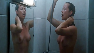 Karine Vanasse exposed nude