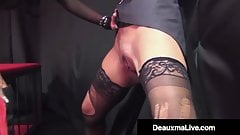 Jailed Cougar Deauxma Punished By Crazy Hard Cock!