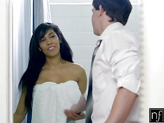 Busty bride kitchen Nf busty - hot mistress shay evans gets kitchen quickie fuck