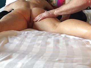 Ass massage vid - Wifes ass massage