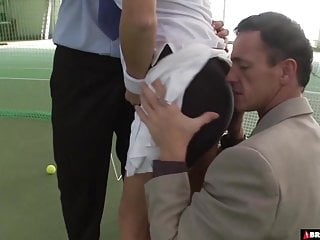 Tennis players sexy bloopers - Tennis coaches double team their star player