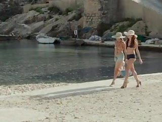 Angelina jolie giving a blowjob Angelina jolie, melanie laurent - by the sea