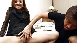 Mao sucks dong and pees before and after getting sex toys in