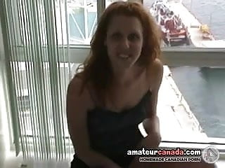 Hawaii vacation condos adults - Geek redhead upskirt interview and tease in my condo