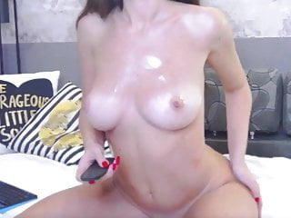 Old mature sex models - Beautiful cam model teases with oil and toy